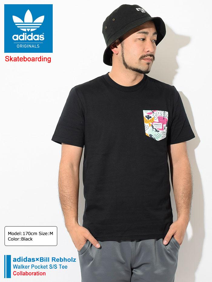 adidasアディダスのTシャツ Bill Rebholz Walker Pocket01