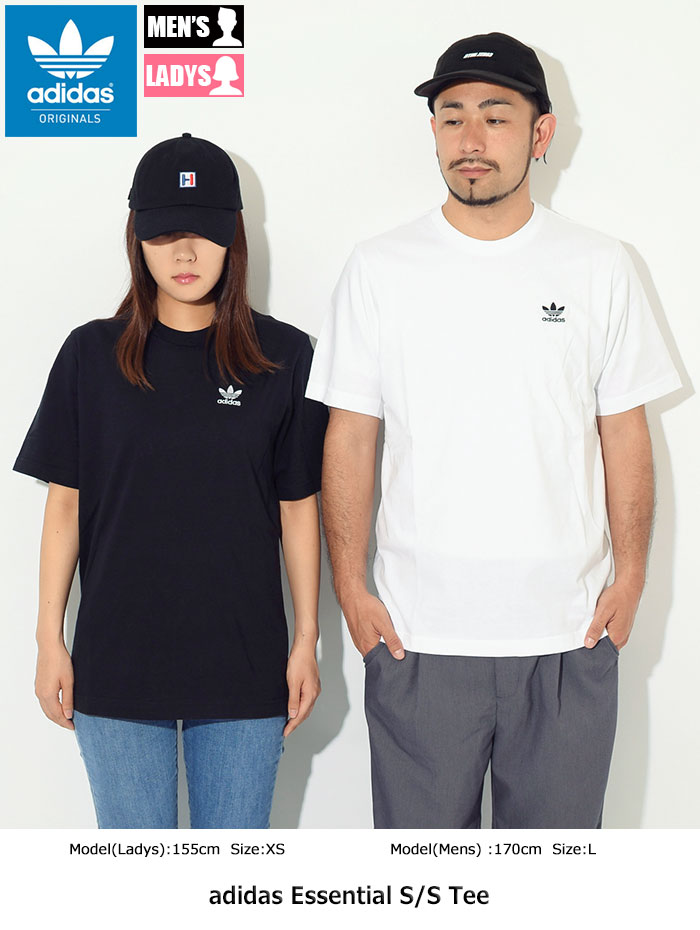 adidasアディダスのTシャツ Essential01