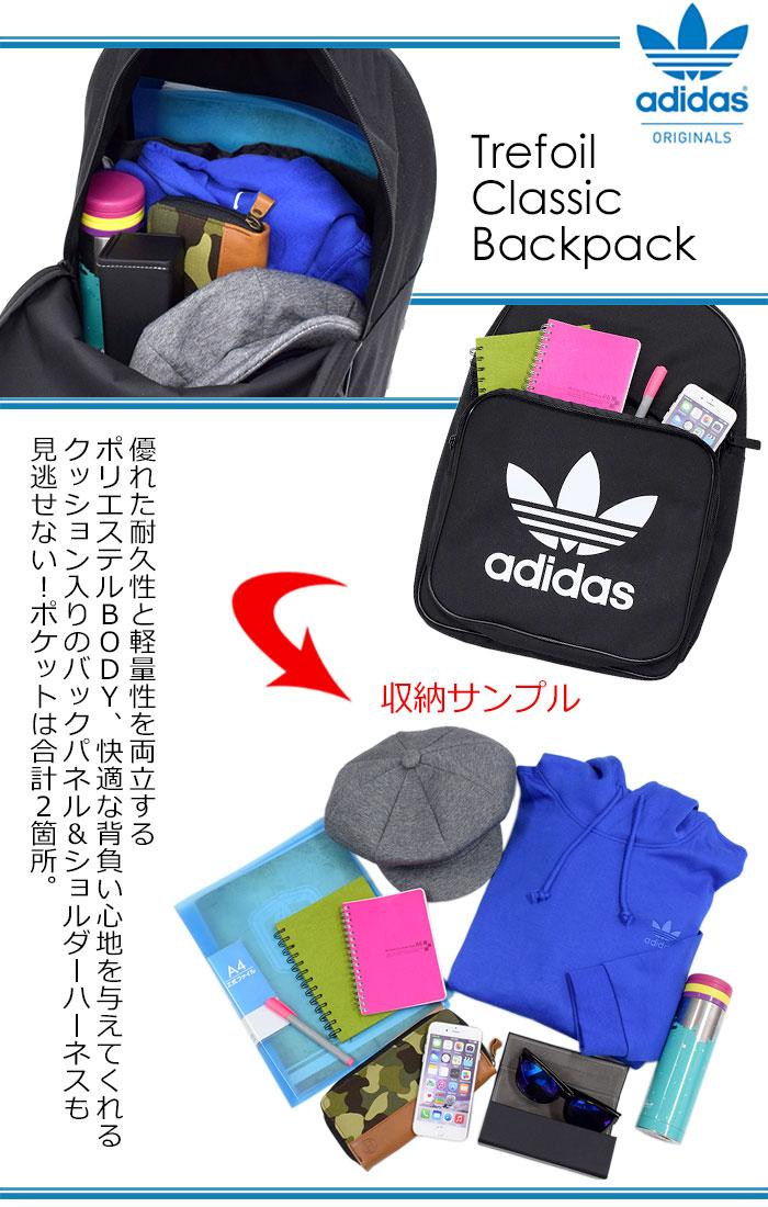 adidasアディダスのリュック 19SS Trefoil Classic Backpack06