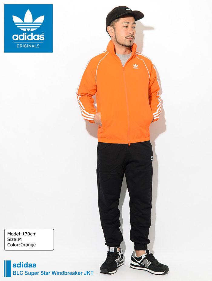 adidasアディダスのジャケット BLC Super Star Windbreaker01