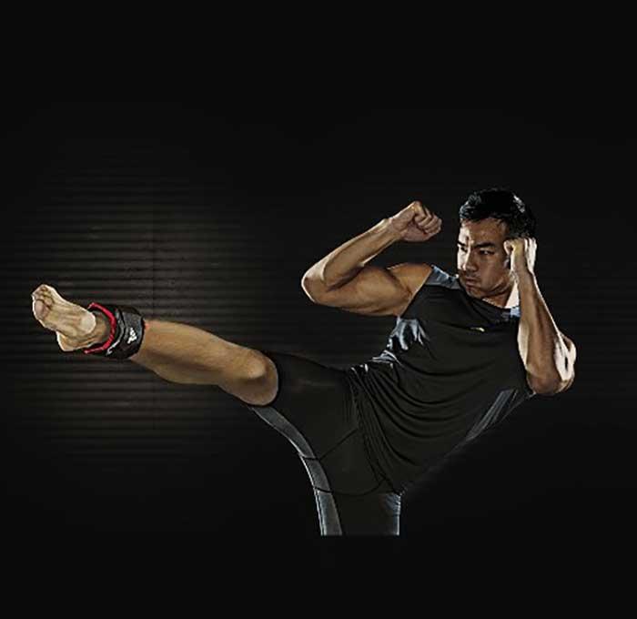 adidasアディダスのアンクルウエイト Adjustable Ankle Weights 2.0kg×2 03