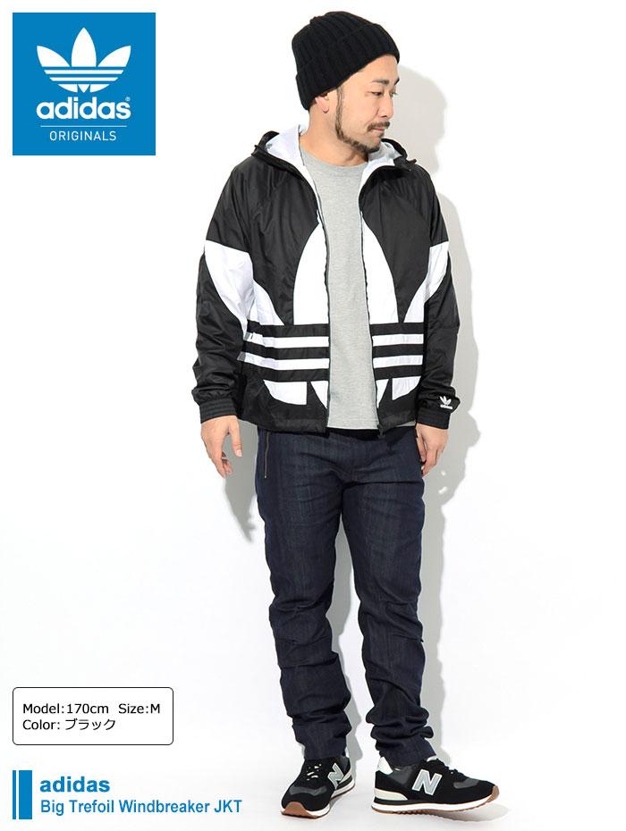 adidasアディダスのジャケット Big Trefoil Windbreaker01