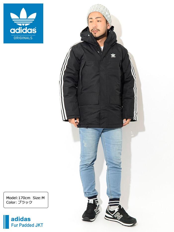 adidasアディダスのジャケット Fur Padded01