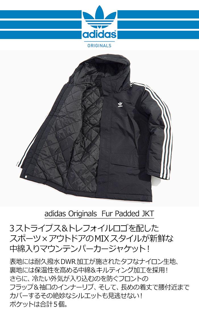 adidasアディダスのジャケット Fur Padded06