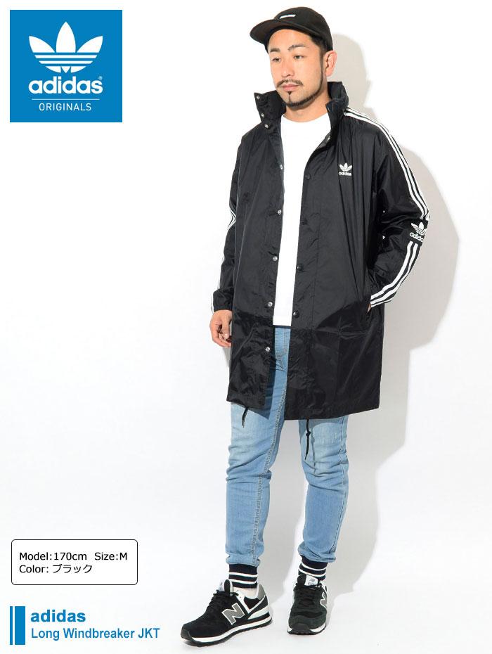 adidasアディダスのジャケット Long Windbreaker01
