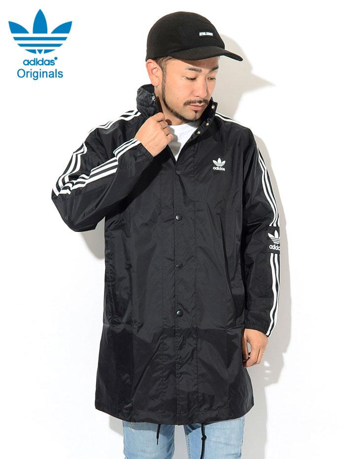 adidasアディダスのジャケット Long Windbreaker02