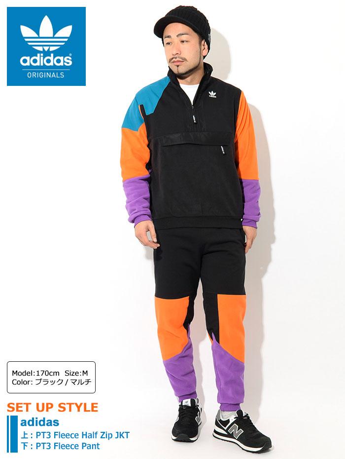 adidasアディダスのジャケット PT3 Fleece Half Zip01