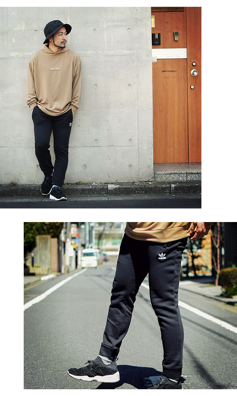 adidasアディダスのパンツ Trefoil Pant05