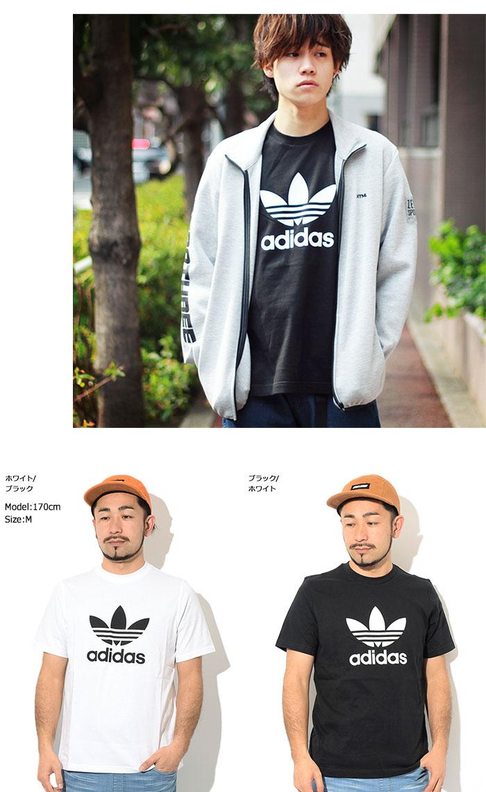 adidasアディダスのTシャツ トレフォイル13