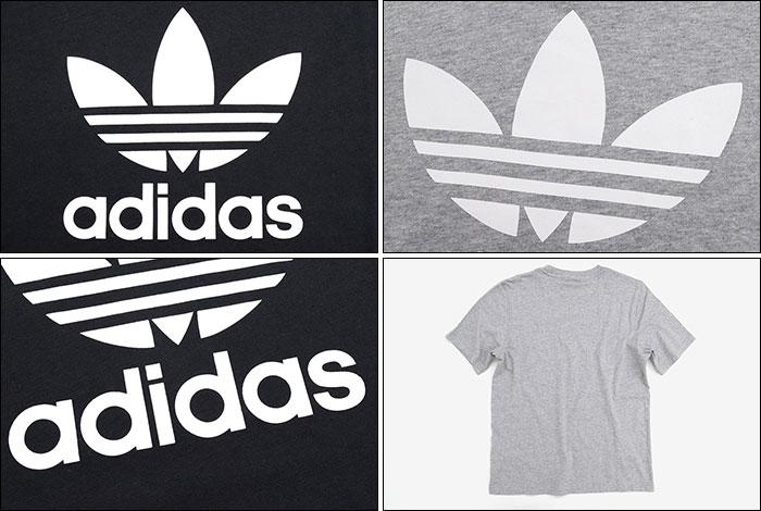 adidasアディダスのTシャツ トレフォイル16