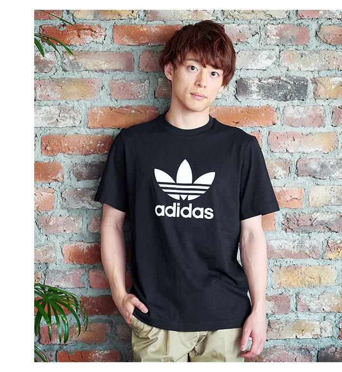 adidasアディダスのTシャツ トレフォイル02