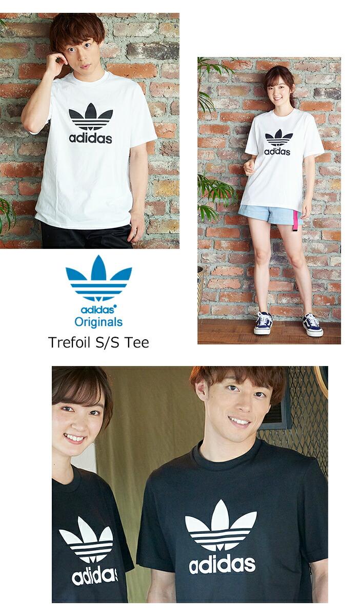 adidasアディダスのTシャツ トレフォイル09