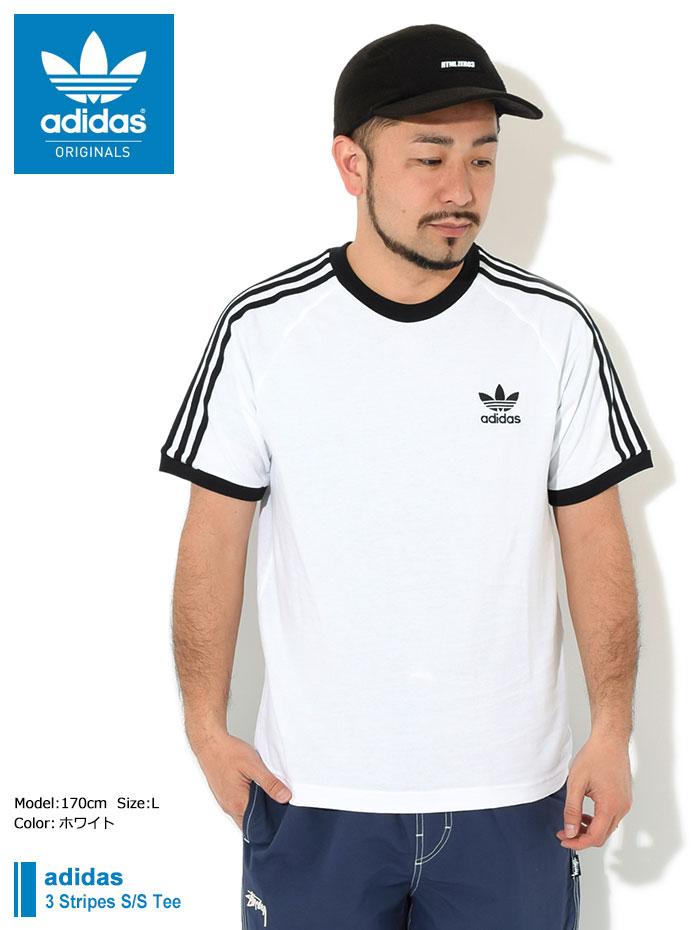 adidasアディダスのTシャツ 3 Stripes01