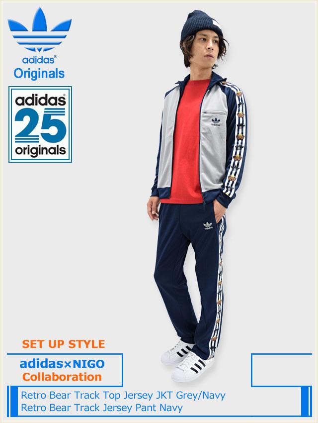 63d59dd2ce94 Tops are sold separately. JKT adidas×NIGO Retro Bear Track Top Jersey JKT