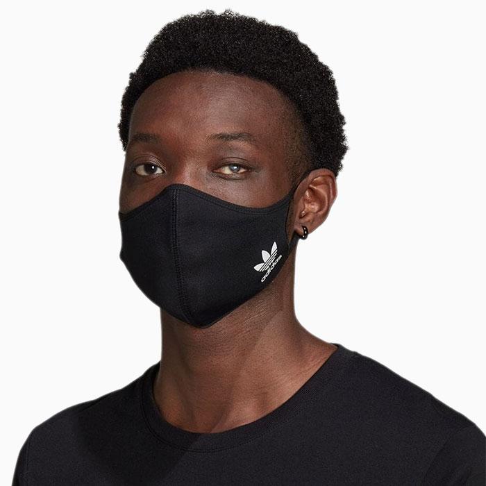 adidasアディダスのマスク Face Covers 3-Pack13