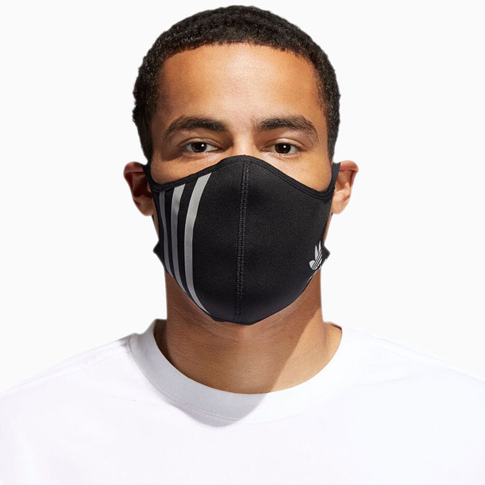 adidasアディダスのマスク Face Covers 3-Pack15