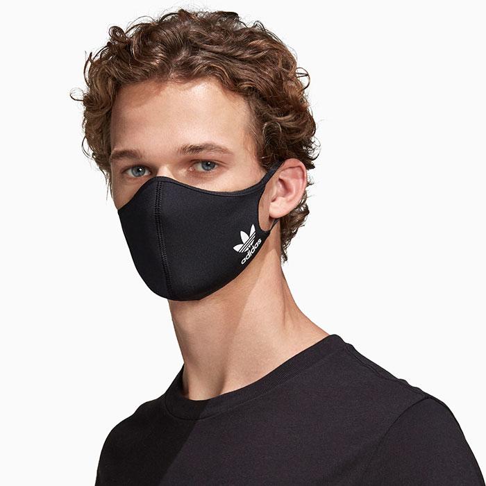 adidasアディダスのマスク Face Covers 3-Pack11