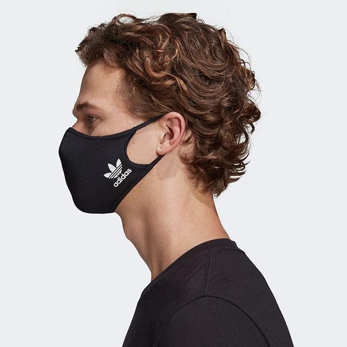 adidasアディダスのマスク Face Covers 3-Pack12