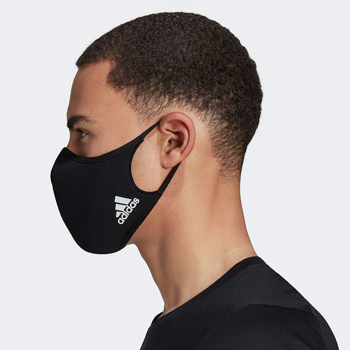 adidasアディダスのマスク Face Covers 3-Pack16