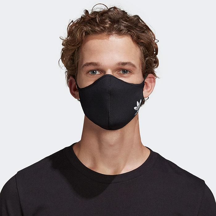 adidasアディダスのマスク Face Covers 3-Pack09