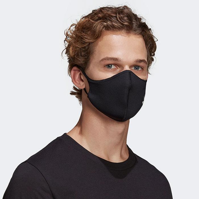 adidasアディダスのマスク Face Covers 3-Pack10
