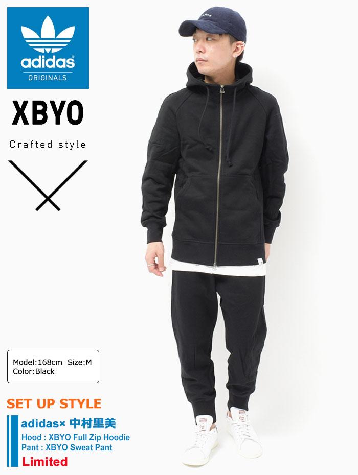 adidasアディダスのパーカー 中村里美 XBYO Full Zip03