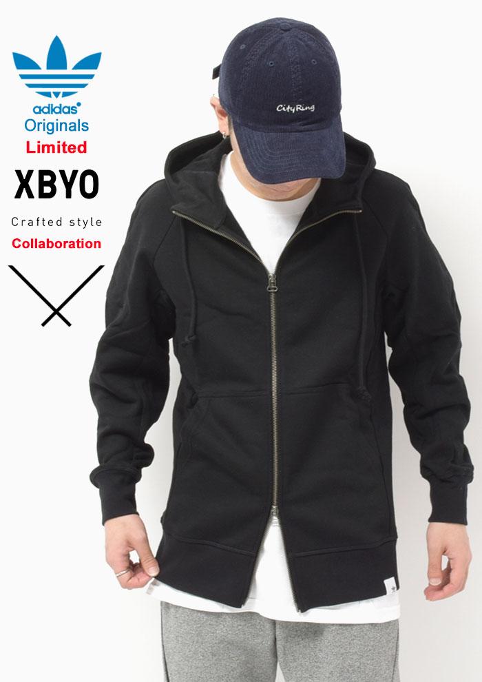 adidasアディダスのパーカー 中村里美 XBYO Full Zip04