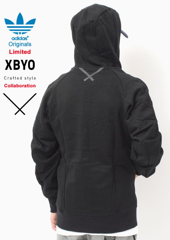 adidasアディダスのパーカー 中村里美 XBYO Full Zip06