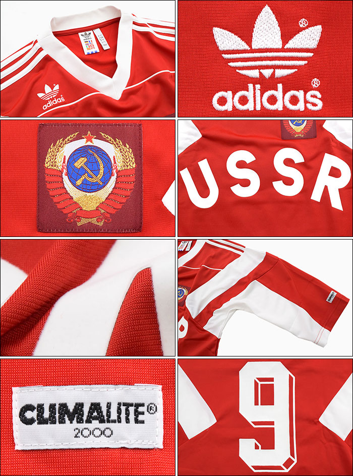 adidasアディダスのカットソー Russia Jersey04