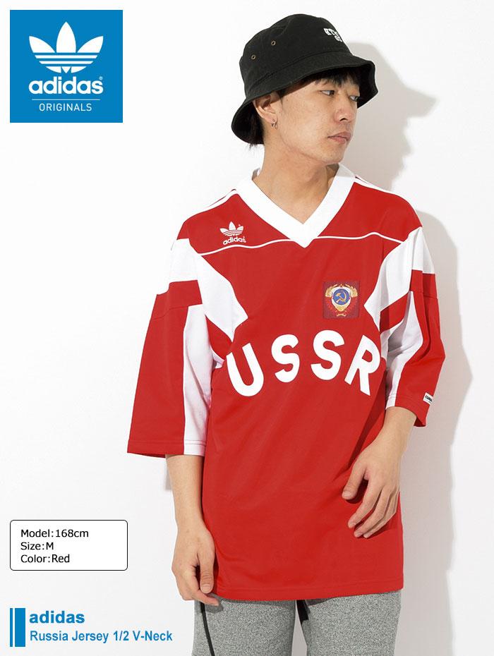 adidasアディダスのカットソー Russia Jersey01