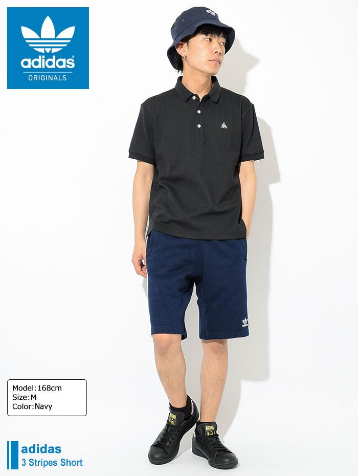 adidasアディダスのハーフパンツ 3 Stripes Short01