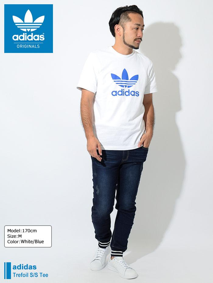 adidasアディダスのTシャツ トレフォイル01