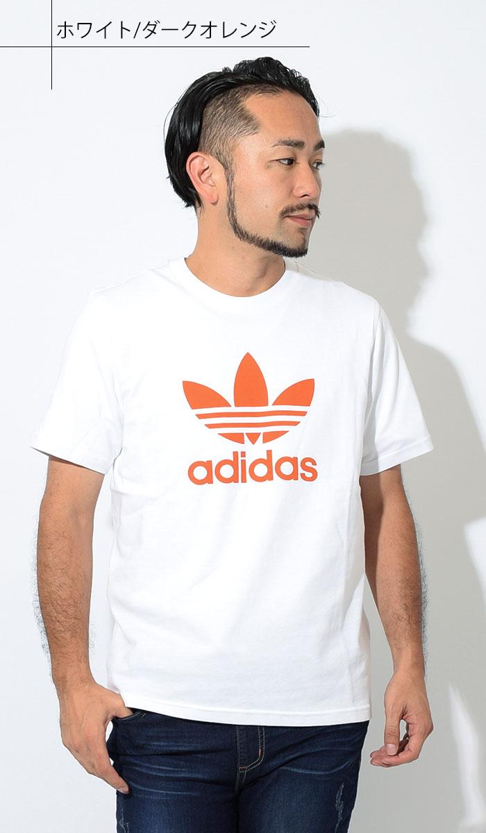 adidasアディダスのTシャツ トレフォイル05
