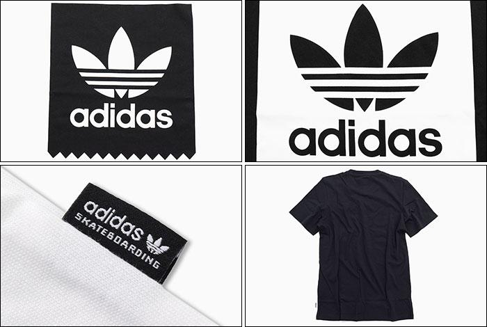 adidasアディダスのTシャツ Solid Blackbird02