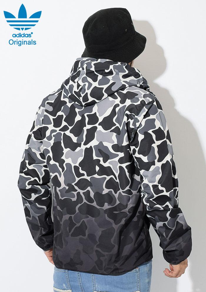 adidasアディダスのジャケット Camo Dipped Windbreaker04
