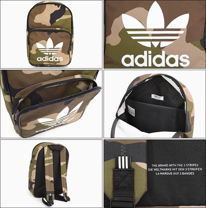 adidasアディダスのリュック Classic Camo Backpack03
