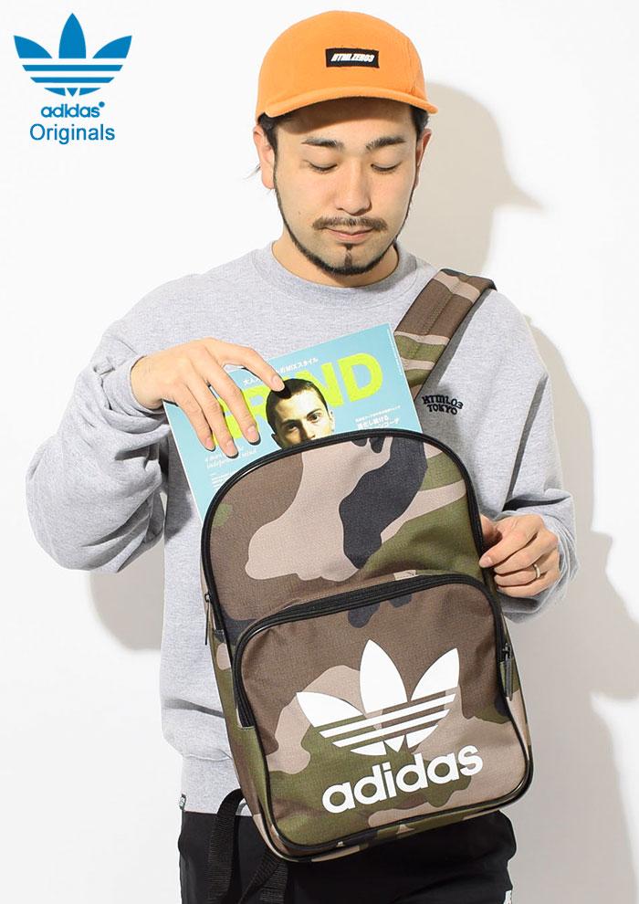 adidasアディダスのリュック Classic Camo Backpack02