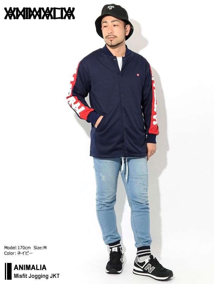 ANIMALIAアニマリアのジャケット Misfit Jogging01