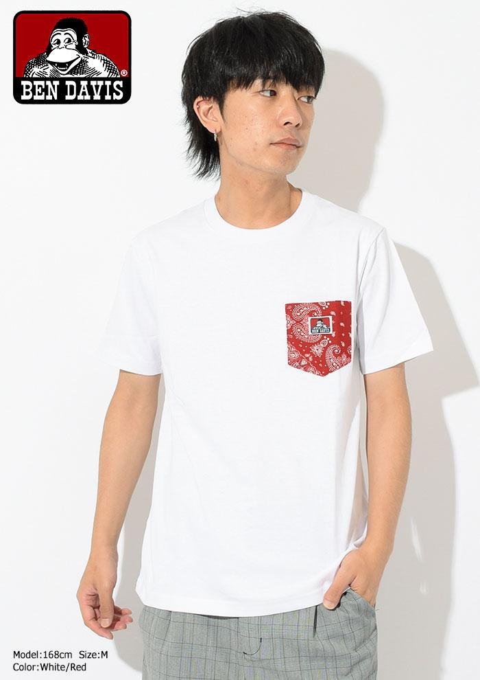 BEN DAVISベンデイビスのTシャツ Paisley Pocket03