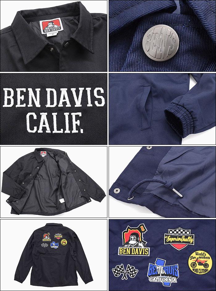 BEN DAVISベンデイビスのジャケット Logo Wappen Coach05
