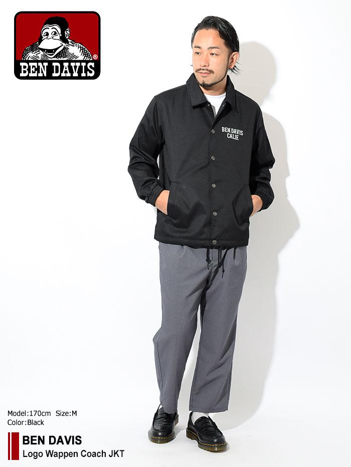 BEN DAVISベンデイビスのジャケット Logo Wappen Coach01