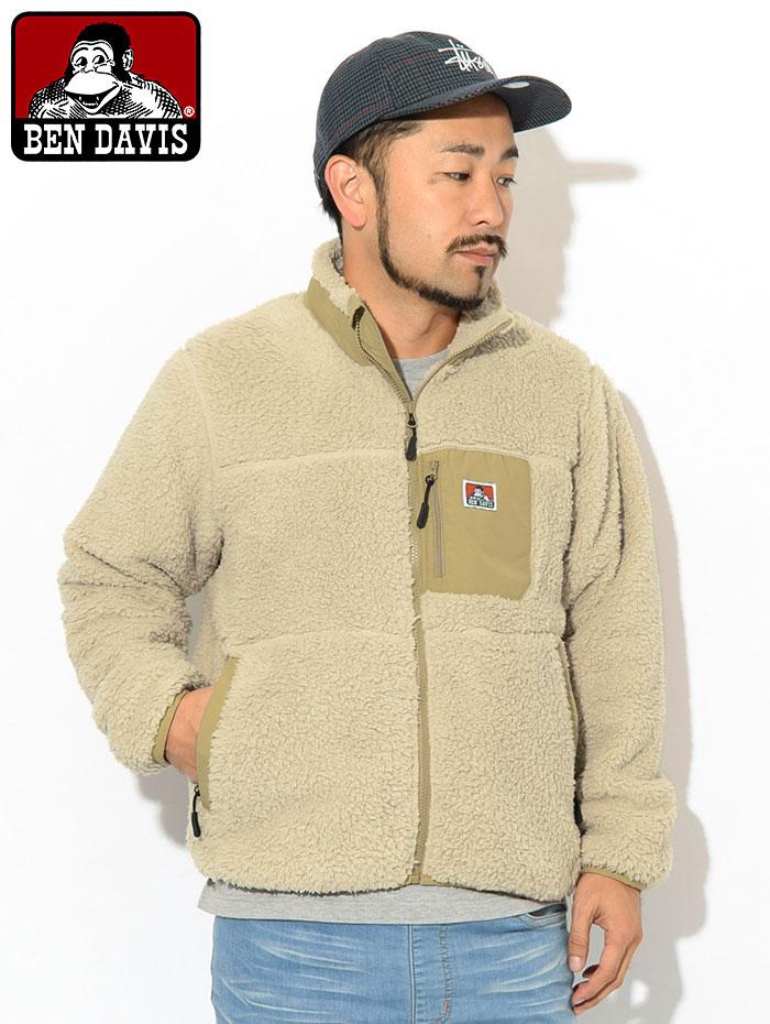 BEN DAVISベンデイビスのジャケット Soft Boa02