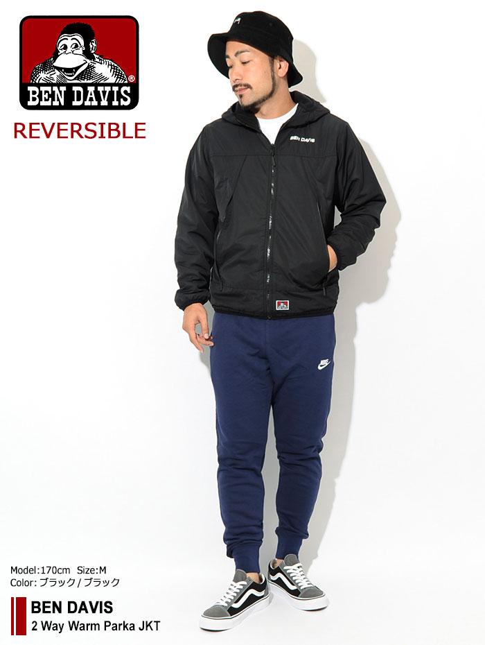 BEN DAVISベンデイビスのジャケット 2 Way Warm Parka01
