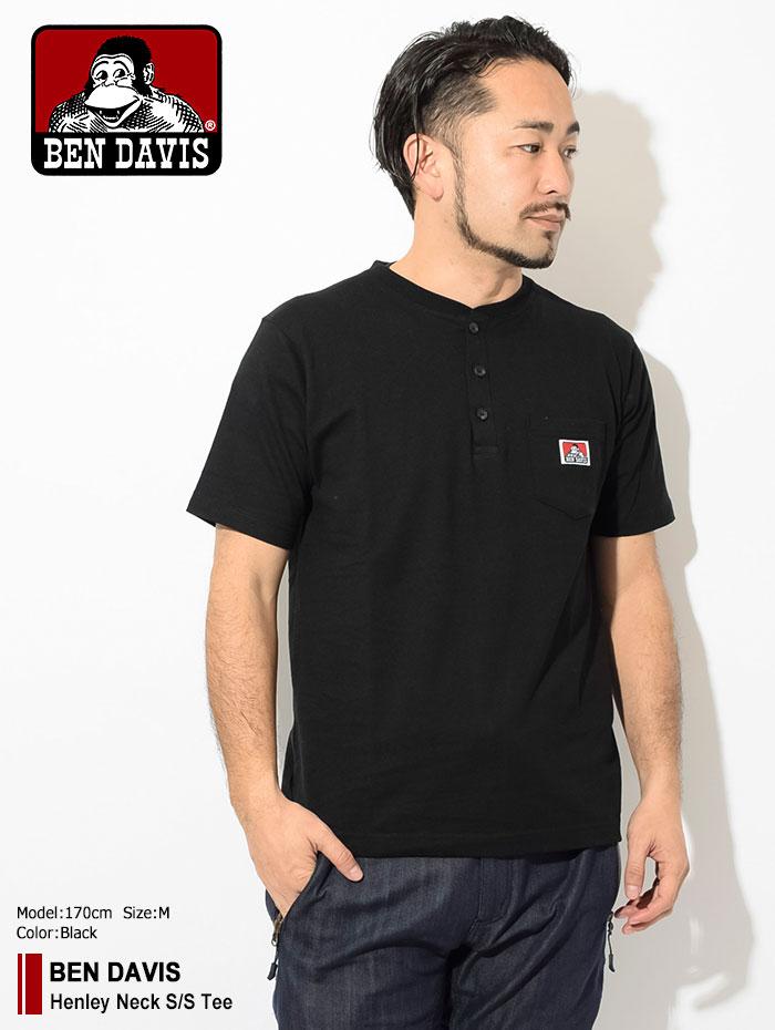 BEN DAVISベンデイビスのTシャツ Henley Neck01