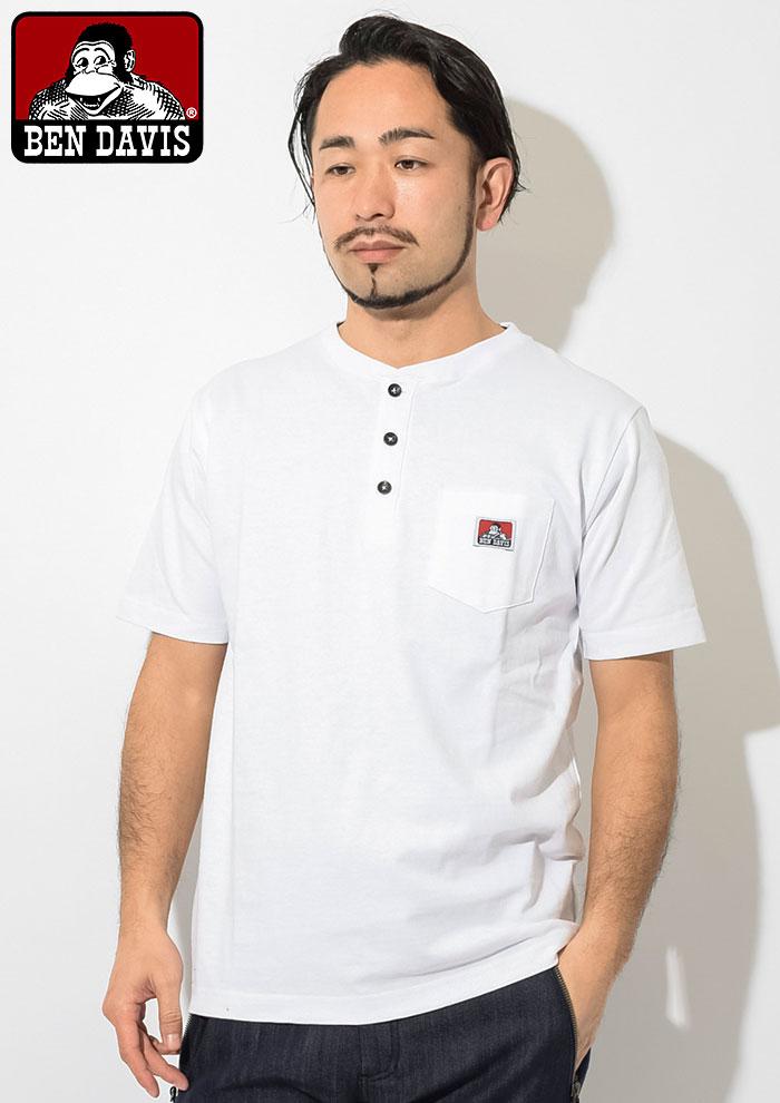 BEN DAVISベンデイビスのTシャツ Henley Neck02