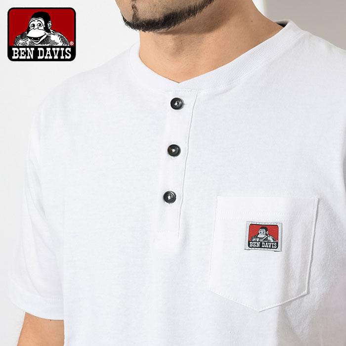 BEN DAVISベンデイビスのTシャツ Henley Neck03