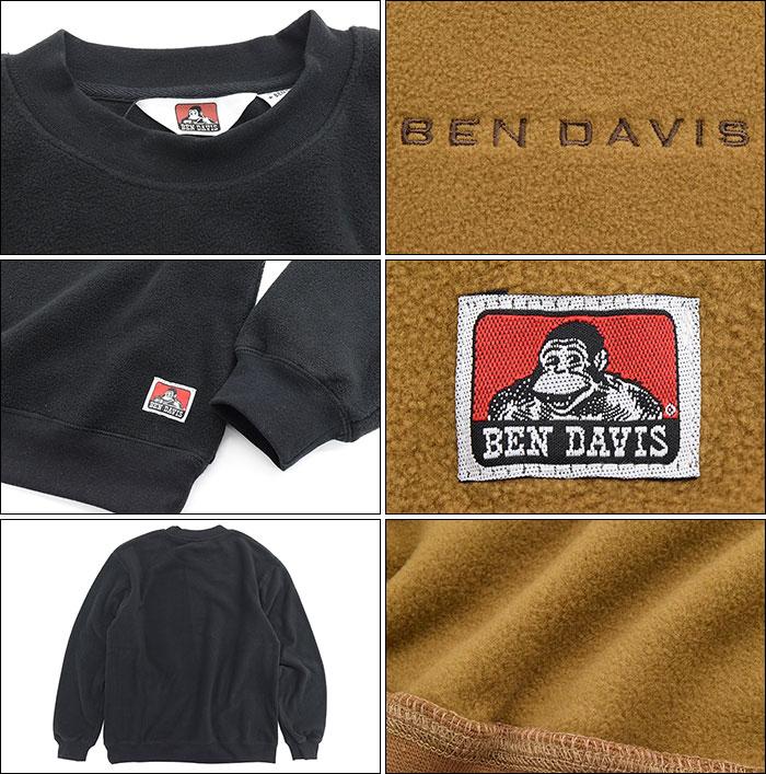 BEN DAVISベンデイビスのトレーナー Fleece Crew03