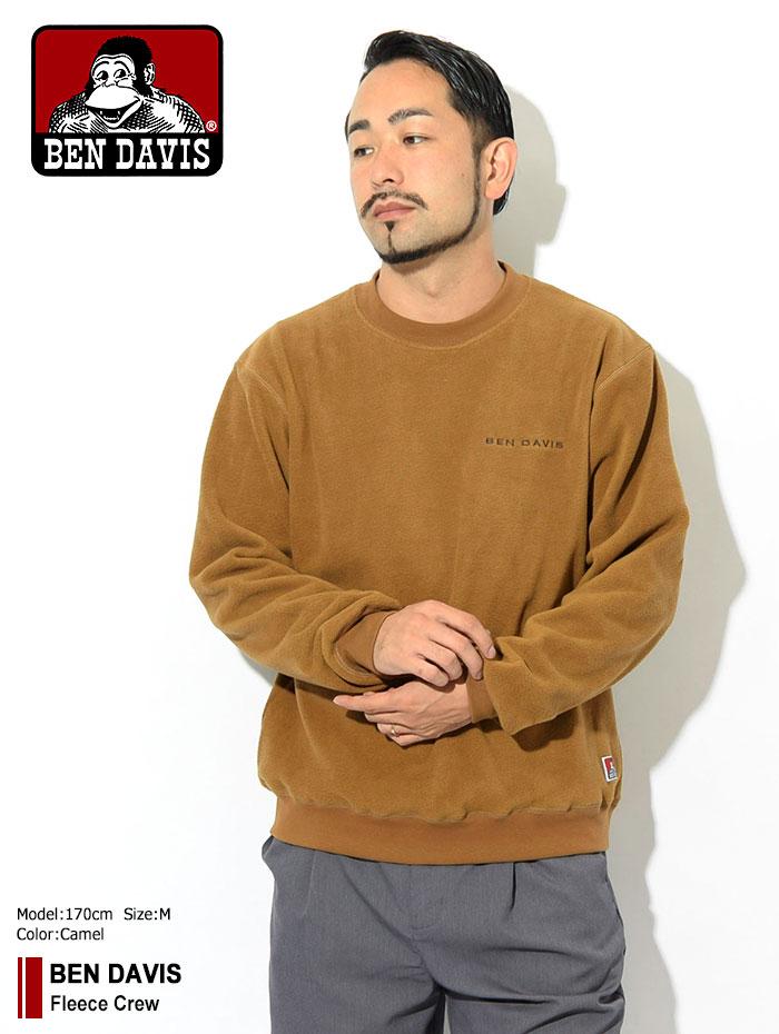 BEN DAVISベンデイビスのトレーナー Fleece Crew01