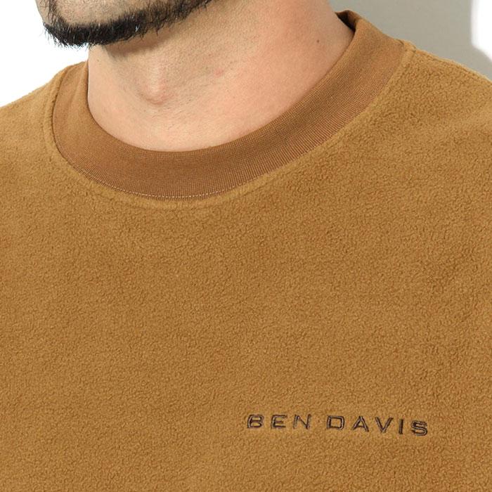 BEN DAVISベンデイビスのトレーナー Fleece Crew02