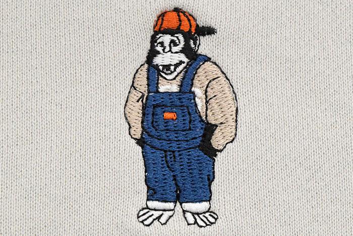 BEN DAVISベンデイビスのトレーナー Mini Gorilla EMB Crew Sweat05